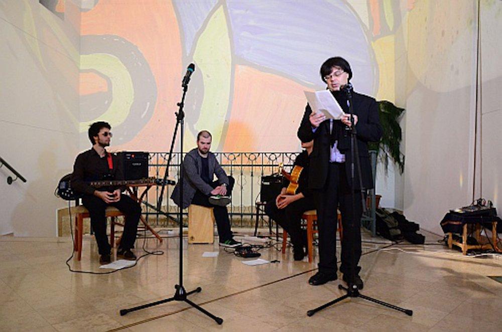 Miro kiállítás megnyitója 2013