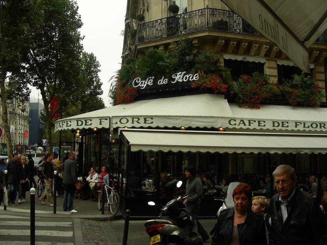 Cafe de Flore / Sartre kedvenc kávézója