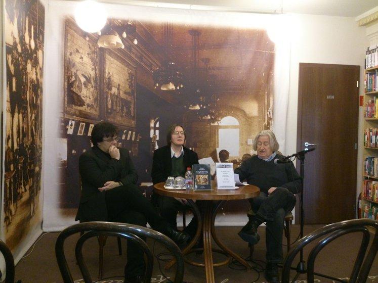 Írók Bolta könyvbemutató / Vajda Mihállyal és Mészáros Sándorral/ 2013